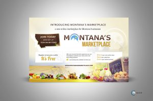 Montana's MarketPlace - Print Advertisement