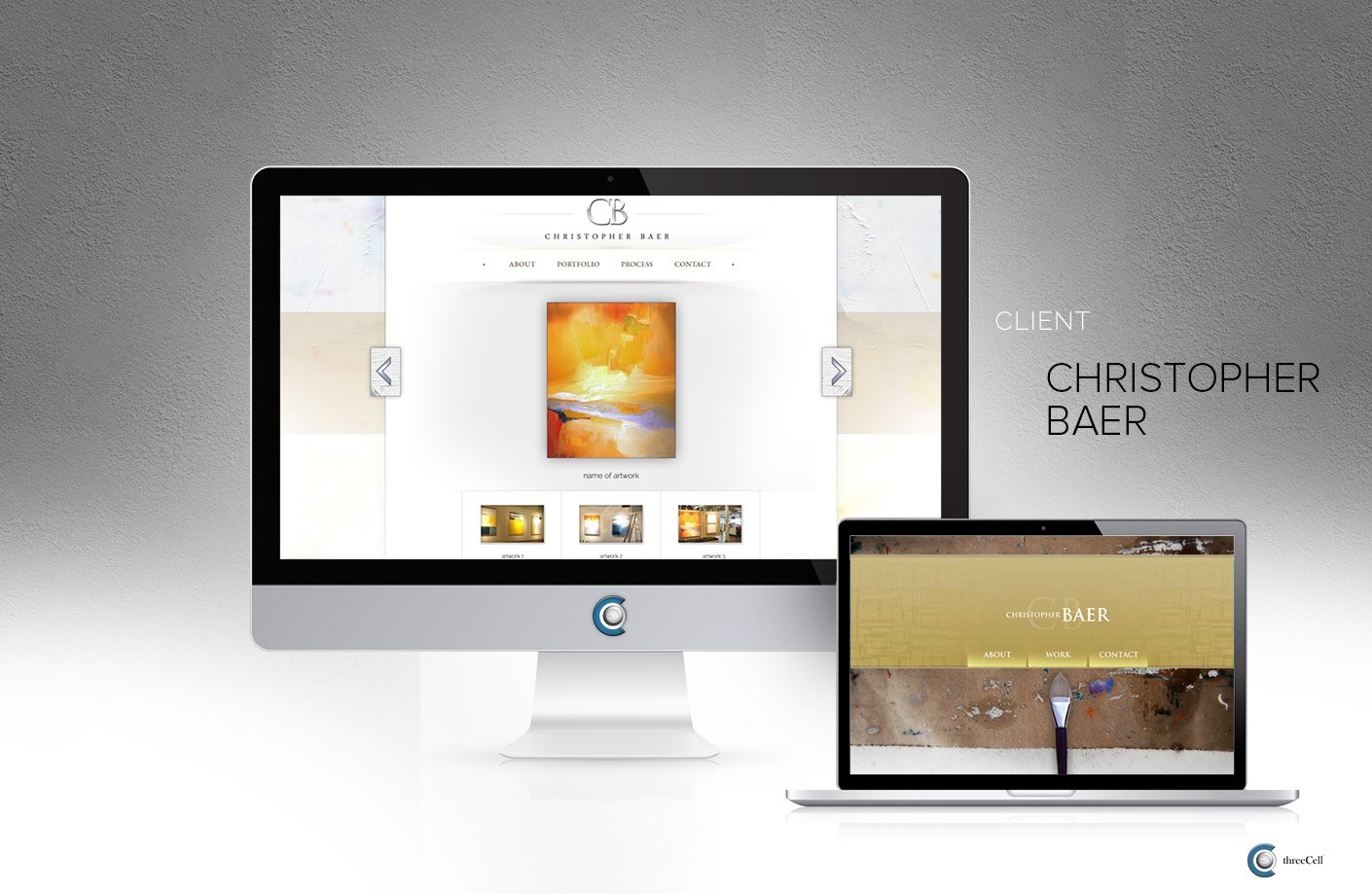Christopher Baer - Website Design