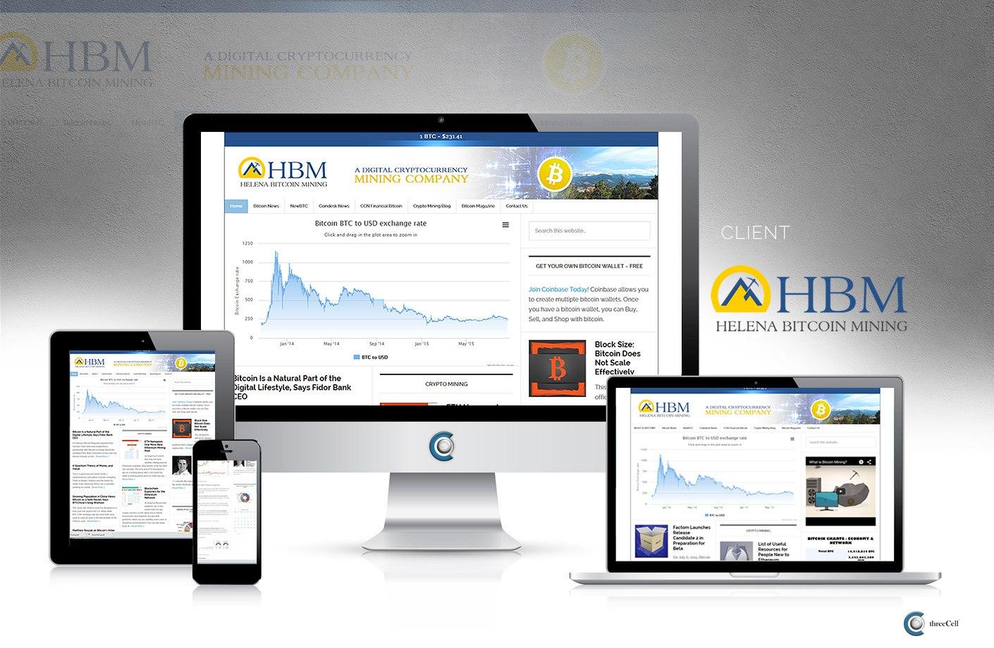 Helena Bitcoin Mining - ThreeCell Web Design
