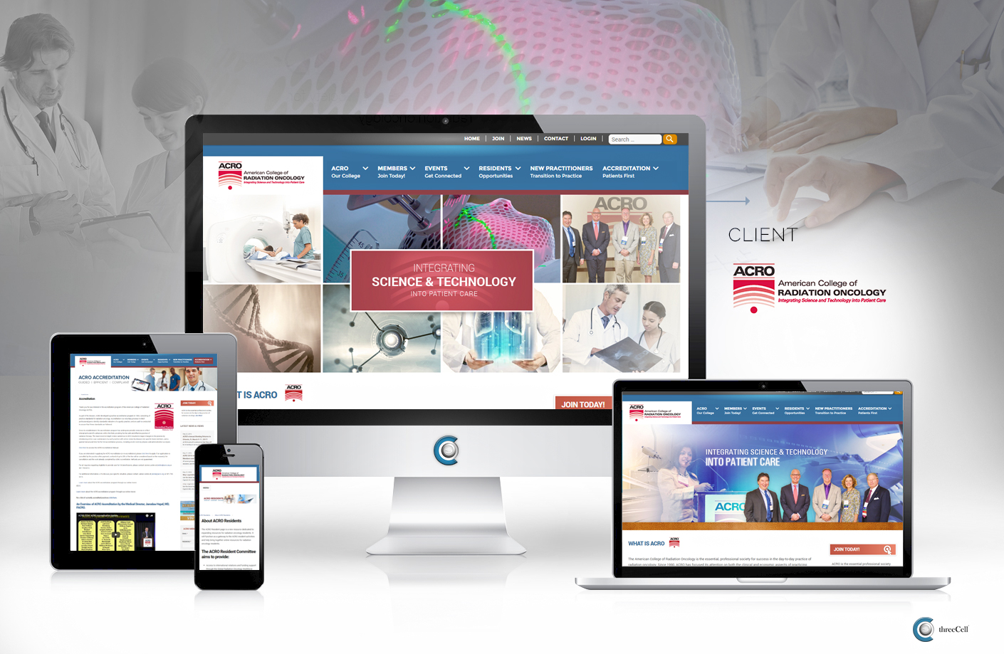 American College of Radiation Oncology (ACRO) - ThreeCell Web Design
