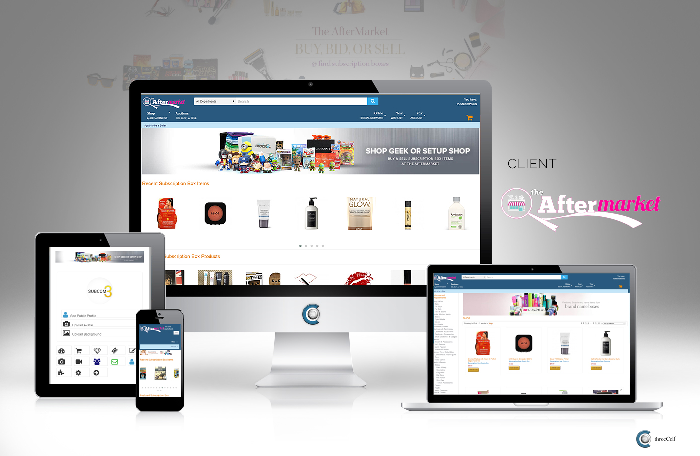 The AfterMarket - Website
