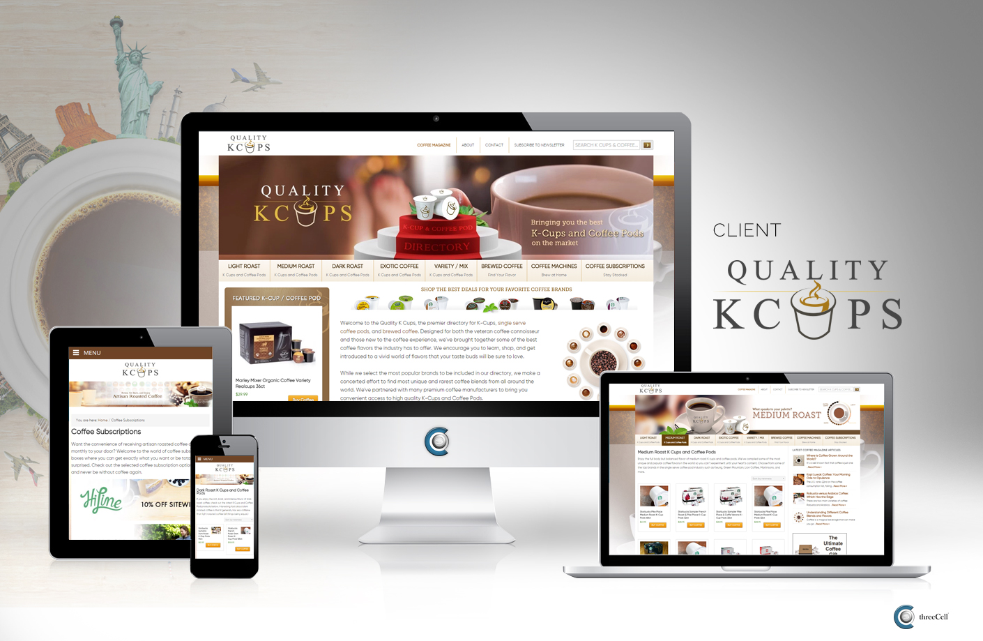 Quality K Cups Coffee Directory - Website