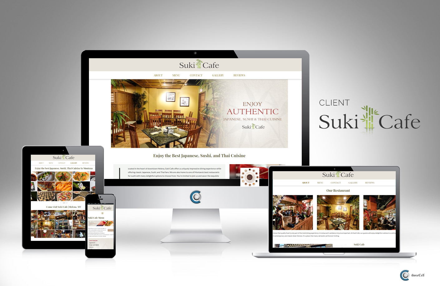 Suki Cafe Website - Helena Montana